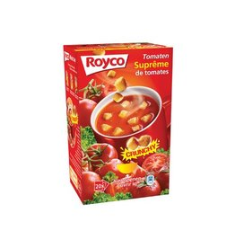 Royco Royco Minute Soup tomatensuprême met croutons, 20 zakjes