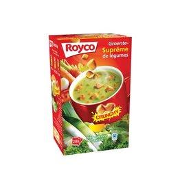 Royco Royco Minute Soup groentensuprême met croutons, 20 zakjes