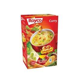 Royco Royco Minute Soup curry met croutons, pak van 20 zakjes