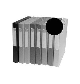 Exacompta Exacompta elastobox Exabox zwart, rug van 2,5 cm