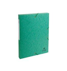 Exacompta Exacompta elastobox Exabox groen, rug van 2,5 cm