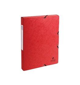 Exacompta Exacompta elastobox Exabox rood, rug van 2,5 cm