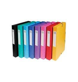 Exacompta Exacompta elastobox Exabox 8 geassorteerde kleuren [8st]