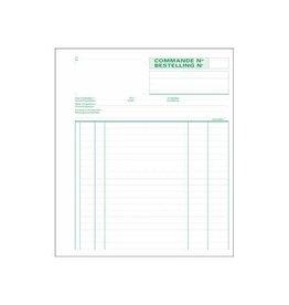 Exacompta Exacompta bestellingen, 21x18cm, bilingue, dupli (50x2 vel)