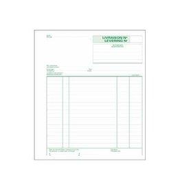 Exacompta Exacompta leveringen, 21x18cm, tweetalig, dupli (50x2 vel)
