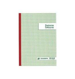 Exacompta Exacompta factuurboek 21x29,7cm tweetalig tripli (50x3 vel)