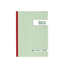 Exacompta Exacompta factuurboek, 21x29,7cm,tweetalig, tripli (50x3vel)