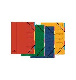 Exacompta Exacompta Sorteermap 7-delig, geassorteerde kleuren [12st]