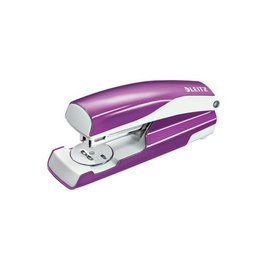 Leitz Leitz NeXXt WOW 5502 nietmachine, paars metallic, op blister