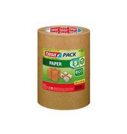 Tesa Tesapack paper ecoLogo, ft 50mm x 50 m, bruin, 3 stuks