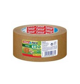 Tesa Tesa verpakkingsplakband Paper, ft 50mmx50 m, papier, bruin