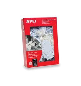 Apli Apli draadetiketten 7 x19 mm (b xh) (383), doos van 1.000st