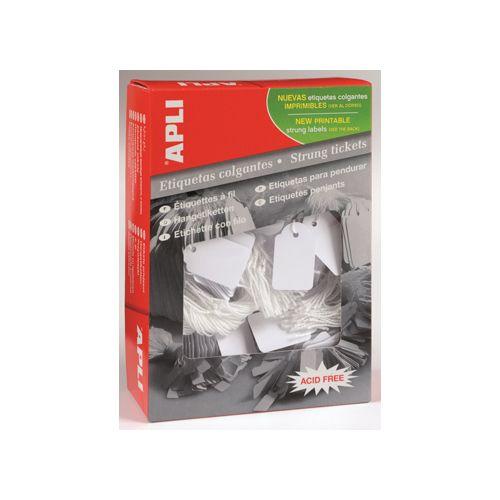 Apli Apli draadetiketten ft 13x20mm (bxh) (387), doos van 1.000st