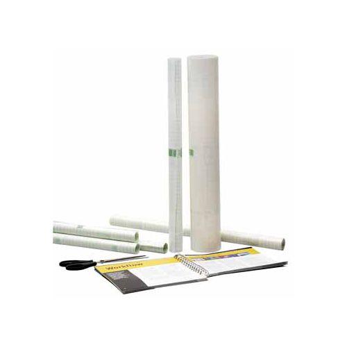 Apli Apli zelfklevende plastic op rollen 1,5 m x0,5 m (50 micron)