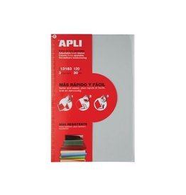Apli Apli Verstelbare boekomslag, voor ft A4, blister van 3 stuks
