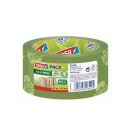 Tesa Tesa verpakkingsplakband Eco,ft 50 mm x 66 mm, groen