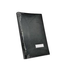 Classex Class'ex handtekenmap, plastic omslag, zwart