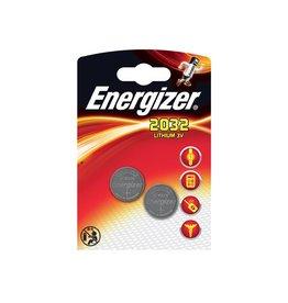 Energizer Energizer knoopcel CR2032, blister van 2 stuks