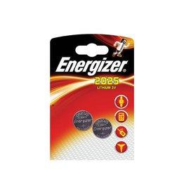 Energizer Energizer knoopcel CR2025, blister van 2 stuks