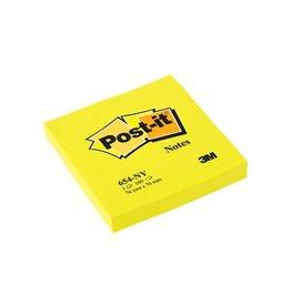 Post-it Notes Neon ft 76 x 76 mm, felgeel
