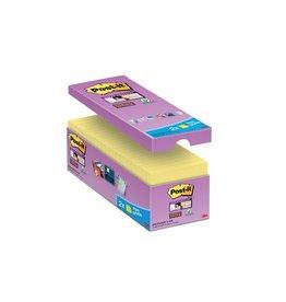 Post-it Post-it Super Sticky notes 76x76mm geel 90vel 14+2 gratis
