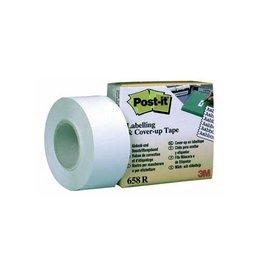 Post-it Post-it correctietape 25 mm met afroller, op blister
