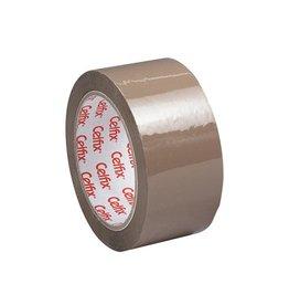 Celfix Celfix verpakkingsplakband ft 50 mm x 66 m, PP, bruin