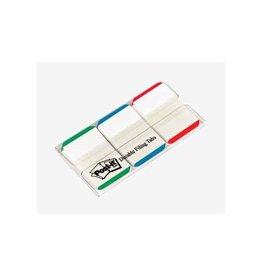 Post-it Post-it Index Strong 25,4x38mm, 3 kl., 22 tabs per kleur