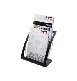 Deflecto Deflecto Folderhouder Contemporary, ft A4, zwart [2st]