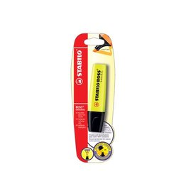 Stabilo Markeerstift Stabilo Boss Original geel (op blister)