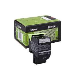 Lexmark Lexmark 702HK (70C2HK0) toner black 4K return (original)