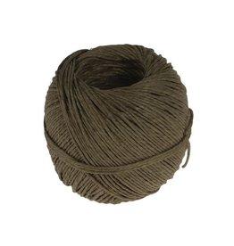 Merkloos Vlaskoord touw uit 2 draden, bol van 100 g, +/- 90 m
