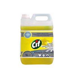 Cif Cif allesreiniger citroenfris, fles van 5 liter