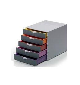 Durable Durable Ladeblok Varicolor, 5 laden