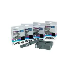 Brother Brother TX tape voor P-Touch 24 mm, zwart op wit