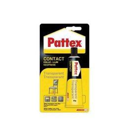Pattex Pattex contactlijm Transparant, tube van 50 g, op blister