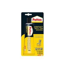Pattex Pattex contactlijm Transparant, tube van 125 g, op blister