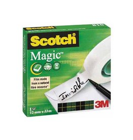 Scotch Scotch plakband Magic  Tape ft 12 mm x 33 m