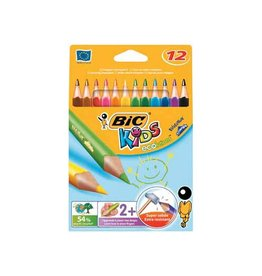 Bic Kids Bic kleurpotlood Ecolutions Evolution Triangle 12 potloden
