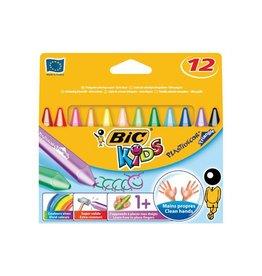 Bic Kids Bic waskrijt Plastidecor Triangle 12 stuks