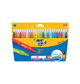 Bic Kids Bic viltstift Kid Couleur 24 stiften