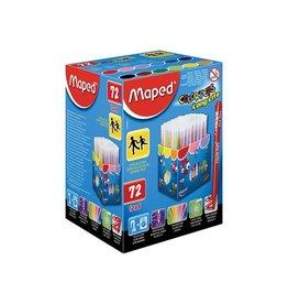 Maped Maped Viltsti Color'Peps 72 stien in een kartonnen doos