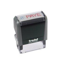 Trodat Trodat tekststempel Printy Line tekst: PAYE