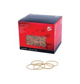 5 Star 5 Star elastieken 1,5 mm x 60 mm, doos van 500 g