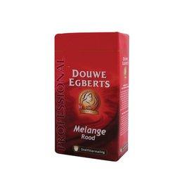 Douwe Egberts Douwe Egberts koffie, Melange rood, pak van 250 g