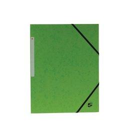 5 Star 5 Star elastomap 3 kleppen groen, pak van 10 stuks