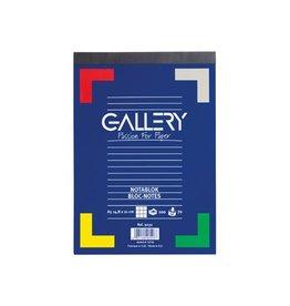 Gallery Gallery schrijfblok, ft A5, geruit 5 mm, blok van 100 vel