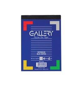 Gallery Gallery notitieblok, ft A6, geruit 5 mm, blok van 100 vel