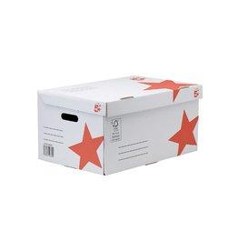 5 Star 5 Star containerdoos, Flip Top [10st]