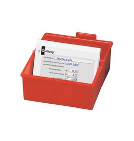 Han Han systeemkaartenbak ft A5, rood